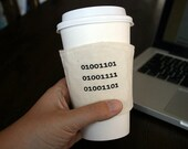 Binary Mom cup cozy