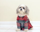 Eco Dog Coat - Anfield Plaid, LG