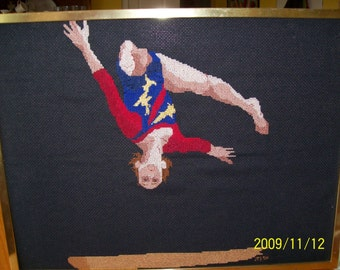 Gymnast Cross-Stitch Ana Progras