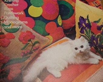 1970s Needlework and Crafts Book