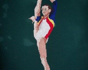 Gymnast Cross-Stitch Ana Porgras-Romania