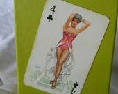 Mature Woman Pin Up Cards