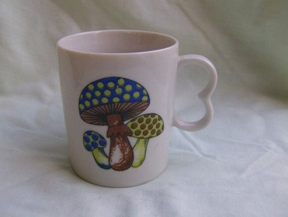 3 Mushrooms on a Mug New Trends Made in Japan Coffee Mug