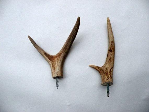 Deer Antler Coat Hooks Design Decoration