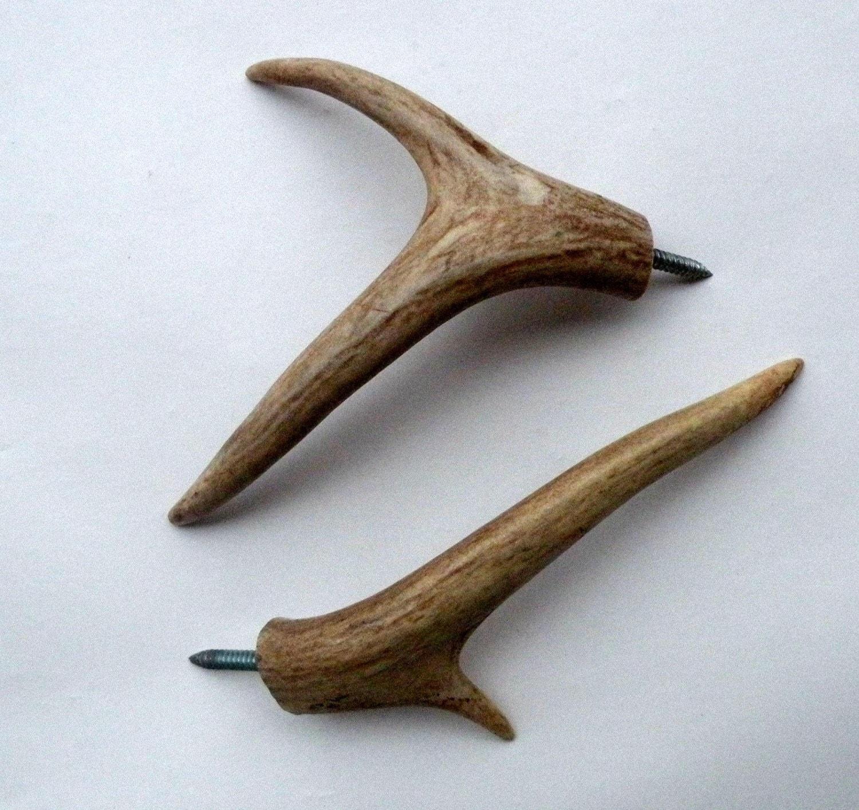 deer antler coat hooks