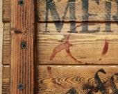 Merlot Wine Crate sign