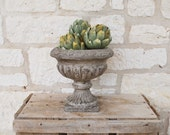 Vintage style Pottery, Planter, Vase, Urn, French Farmhouse