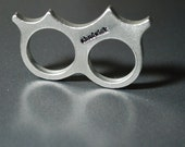 The Starburst Knuckle Duster in pewter