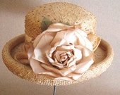 Summer Time Rose - Straw Hat by City Girl Hats