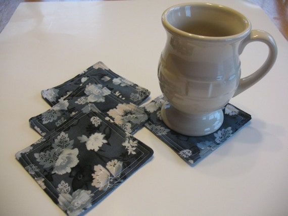 Quilted Coasters or Mug Rugs