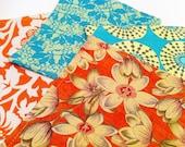 Cloth Napkins - (4) Mixed Floral