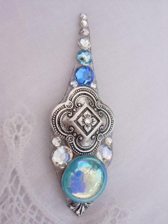 California Sky Super Bindi - belly dance swarovski crystal tribal bindi