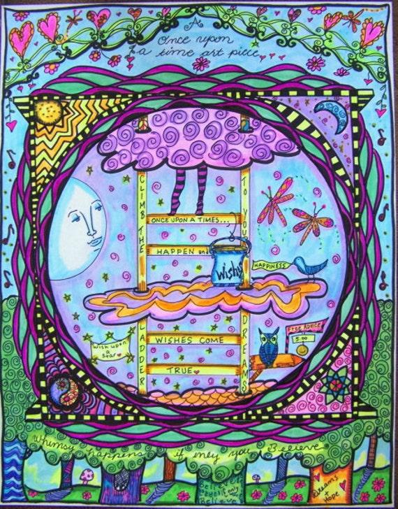 A Hippie Fairy Tale, Original Poster