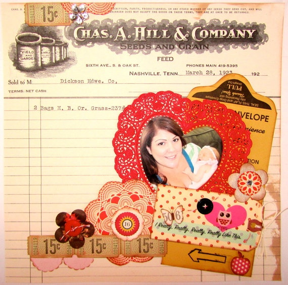 SALE really really like this 12x12 tammy i PreMade Page