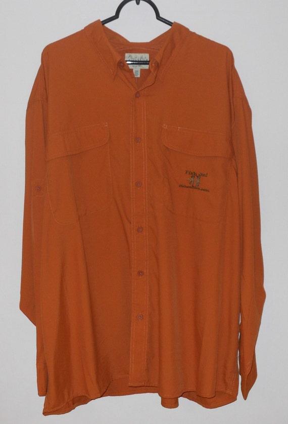 Items similar to men s fishing shirt custom embroidery