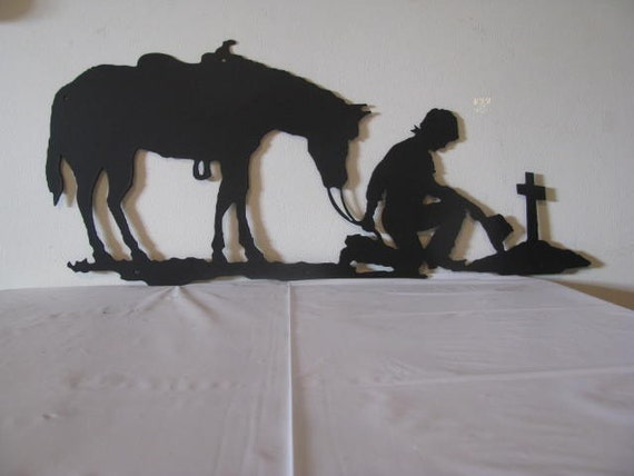 Horse Silhouette Wall Art Silhouette Wall Yard Art