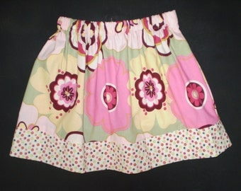 Twirl Skirt Flower Power