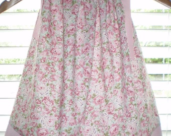 Pink Roses Pillowcase Dress CLEARANCE SALE 16.00