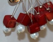 Snag Free Beaded Stitch Markers - Set of 8