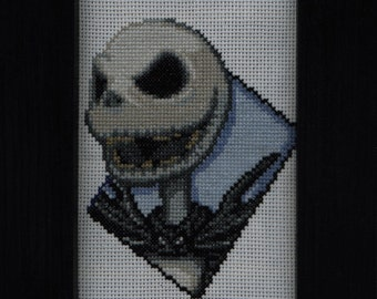 Jack Skellington Cross Stitch Pattern