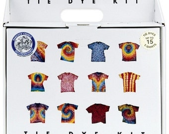 Tie Dye Kit  for Beginners and Intermediate Level Tie Dyers - Includes Materials to Dye up to 15 Adult T-Shirts
