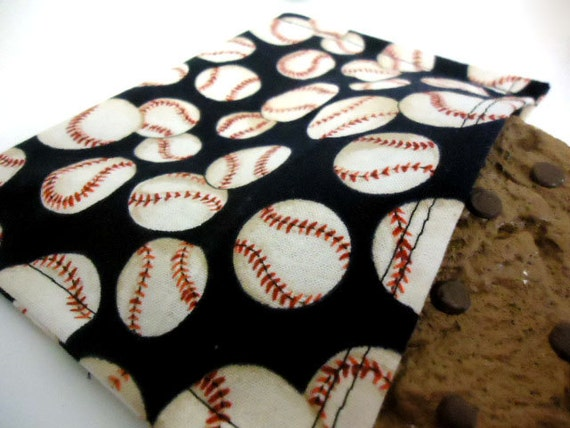 Reusable Eco Friendly Snack Bag - Baseballs -