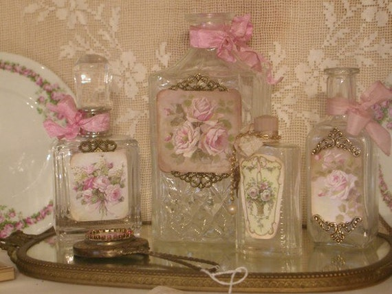 Pretty, Pretty Perfume Bottles All Ready To Frame 5 x 7 Printed On Photo Paper
