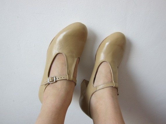 Marianne T-strap / T-bar heels