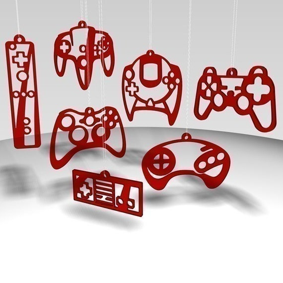 Controller ornaments - Red Tint