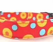 Dots in Yellow - Dog Collar