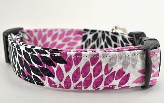 The Sienna - Floral Dog Collar