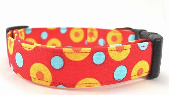 Dots in Yellow - Dog Collar