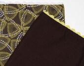 SALE Cloth Napkins - Set of 4 Retro Triangles SALE