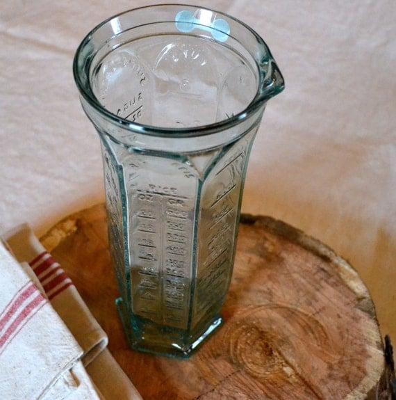 Italian Measuring Glass or Vase (for wet & dry ingredients)