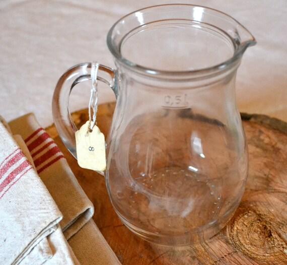 Liter Glass Pitcher