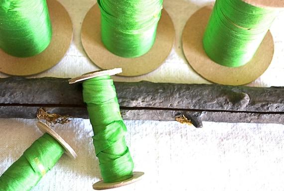 Silk Green Ribbon
