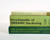 Collection of Vintage Organic Gardening Books