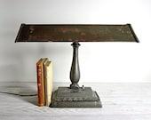 Vintage Industrial Desk Lamp /  Industrial Lighting