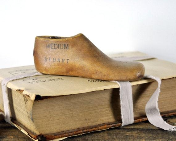 RESERVED - Vintage Child's Shoe Form