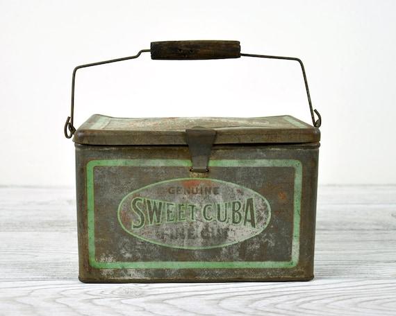 RESERVED - Vintage Advertising Tin / Tin Box