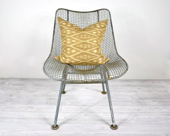Russell Woodard Sculptura Patio Chair / Mid Century Modern Garden Furniture