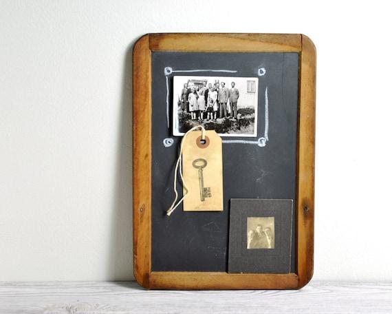Vintage  Slate School Chalkboard