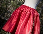 Red Moira Skirt - Reserved for Emily - Final Payment