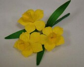 Vintage Natural Daffodil