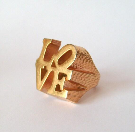 Vintage Love Ring 118