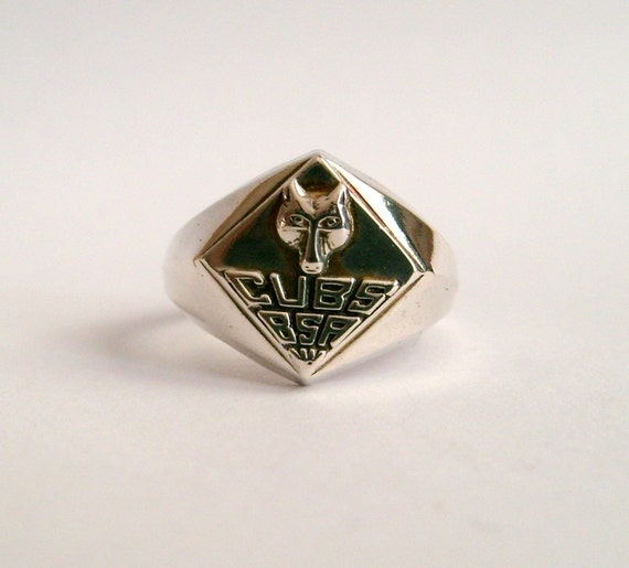 Vintage Antique Sterling Cub Boy Scout Ring
