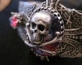 Victorian Gothic Cuff- Dragons Breath