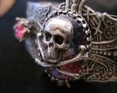 Victorian Gothic Cuff- Dragons Breath