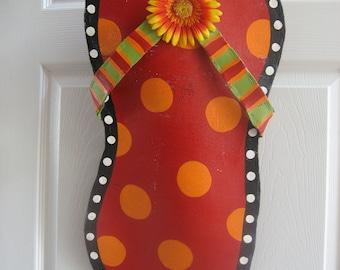 Flip Flop Door Decoration