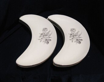 Schumann Arzberg Germany Bone Dishes Pattern Nannette 1960s Set Of 4